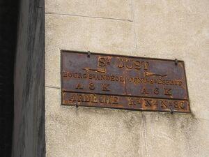 RN86 plaque de cocher