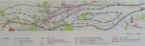 Branche Ouest fuseaux LGV Atlantique