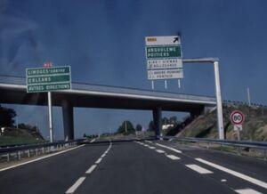 RN20 - Déviation de Limoges (1986)
