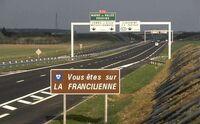 Francilienne-sud Lieusaint