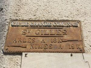 D42 - Plaque Saint-Gilles