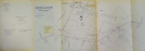 Déviation de La Busière RN7 1965