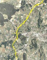 Contournement de Lons-le-Saunier - Tracé