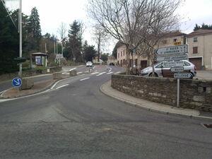 D2 (69)à Saint-Maurice-sur-Dargoire