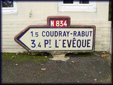 14 Saint-Martin-aux-Chartrains flèche N834