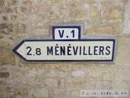 Plaque direction 60D073 - St-Martin-au-Bois