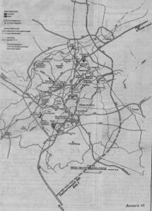 Réseau routier long terme Lille 1994