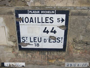 Plaque Michelin 60D044 - Cauvigny