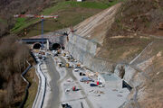 A89 - Travaux Tunnel de Violay