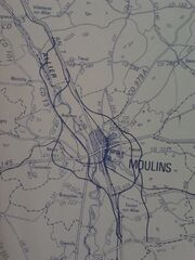 Déviation de Moulins mai 1982 Plan d'Ensemble Zoom