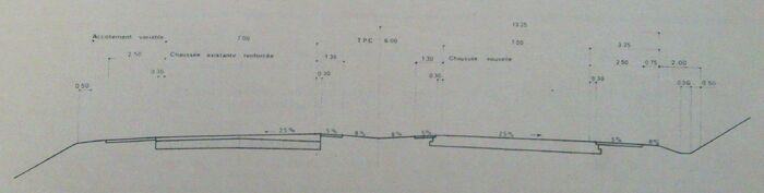 A85 1978 profil en travers voie express
