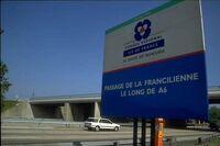 Panneau Francilienne-sud
