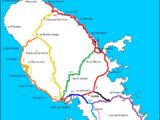 Liste des routes nationales de la Martinique