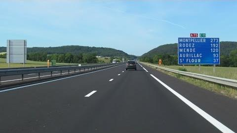 France A75 Clermont-Ferrand - Massiac