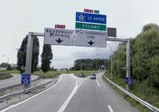 A131 - RN178 - RN182 - Pont de Tancarville
