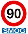Vitesse pic de pollution Belgique (Flandre)