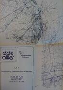 Déviation de Moulins mai 1982 Plan de Détail 3
