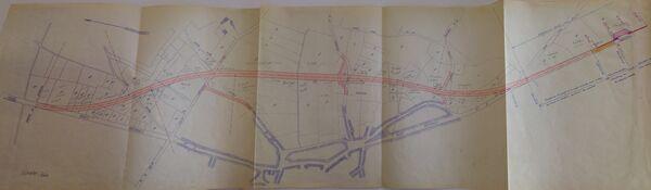 Déviation de Saint Pierre le Moûtier RN7 1952
