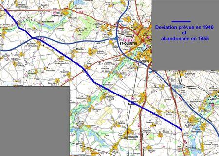 Déviation de l'aglomération de Saint Quentin (02 Ainse)