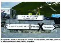 D 927 - Col du Glandon