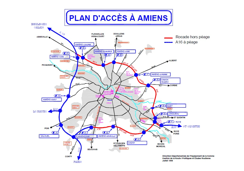 Image rocade d 39 amiens plan d 39 acc wikisara for Plan d amiens