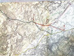 A6 1956-10 Avallon Raccordement RN6