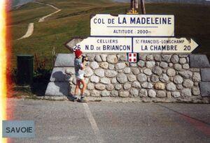 COL DE LA MADELEINE 19-08-1992