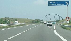 A71-Aire des Volcans d'Auvergne