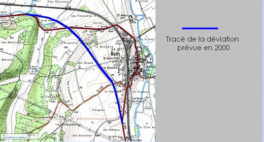 Déviation de Nuits (89 Yonne)