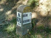 RN675 - Borne Augignac