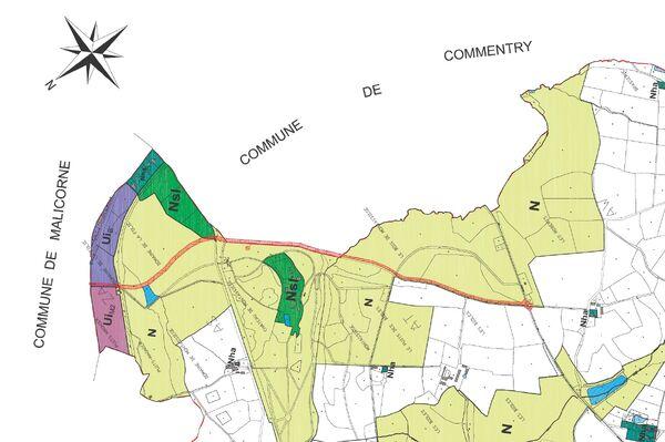 Extrait PLU Neris-les-Bains