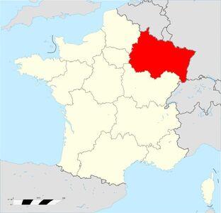 Localisation Région Grand Est