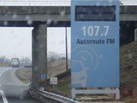 Panneau Autoroute FM