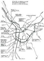 Rocade de Grenoble - Travaux 1979-1987