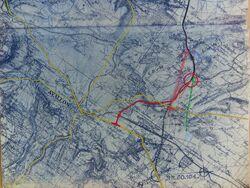 A6 1956 Avallon Raccordement RN6