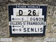 Plaque Michelin 60D026 - Brasseuse-306D