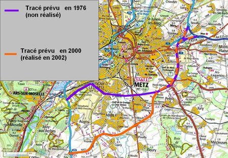 Déviation de Metz (57 Moselle) modif