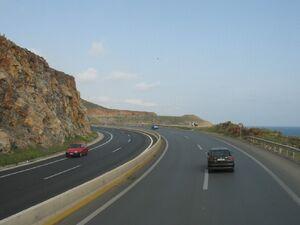 Route n°90 Crête