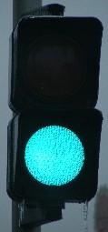 Feu de passage A31 vert