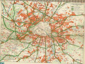 Autoroute du Sud - Après-guerre