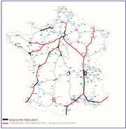 Saturation des autoroutes