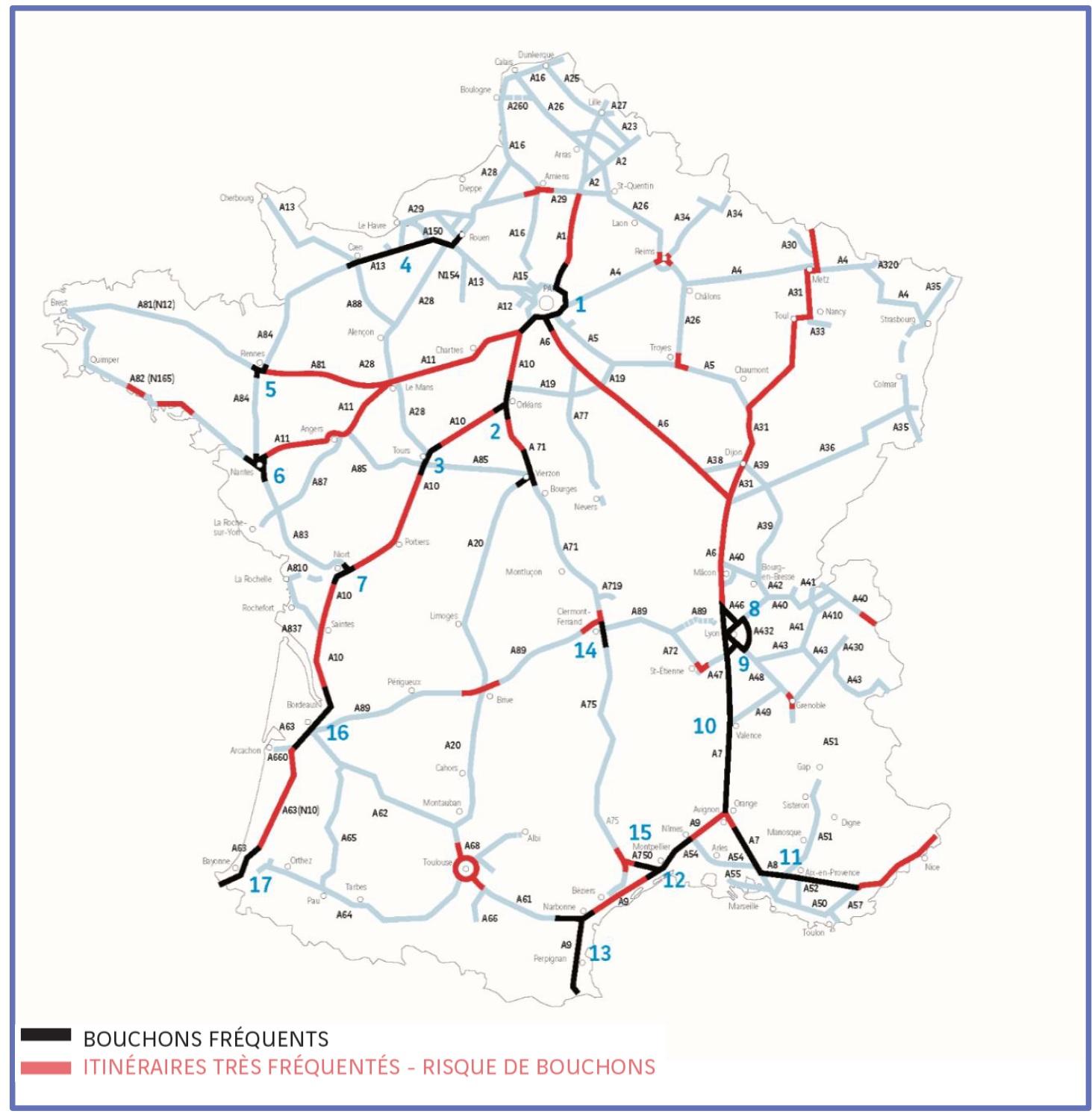 autoroutes de france