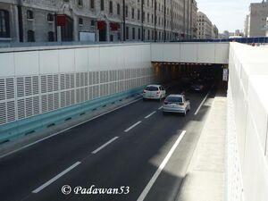 Entrée Tunnel Joliette