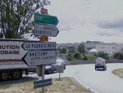 RN446 - Fleury-Mérogis