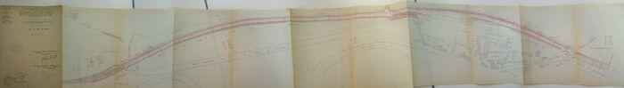 Déviation de Fontenay sur Loing 1938 RN7