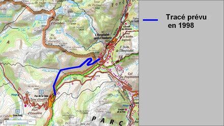 Déviation de l'Hospitalet près d'Andorre (09 Ariége) modif