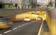 Tête sud tunnel Dames