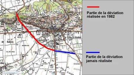 Déviation de la Cote St André (38 Isére) modif