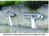 Carte de localisation des Panneaux Michelin de l'Isère (38)