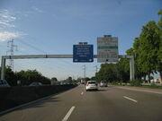 A 35 Illkirch vers Strasbourg
